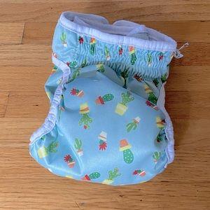 Reusable Cactus Dog Diaper   Size Medium